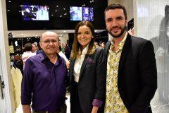 Jocelir Abreu, Mariana Martins e Gleyson Pontes