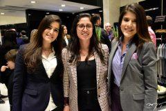 Marcela Azevedo, Maria Alaide e Fernanda Lessa