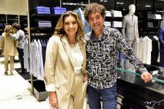 Márcia Travessoni e Ricardo Almeida