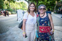 Adriana Helena e Gloria Viana