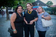 Alessandra Sá,Lúcia Veras e Aurila Freire