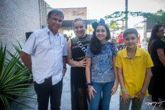 Gilberto Costa, Ana Paula, Carolina e João Pedro Guimarães