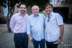 Janos Cavalcante, Abjenor Militão e Gilberto Costa
