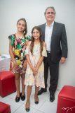 Maria, Sarah e Ricardo Bacelar