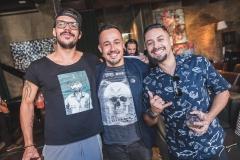 Arthur Perez, Janio Magalhães e Renato Lopes