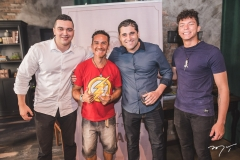 Bento Matos, Iran Lima, Mauricio Campos e Júnior Barros