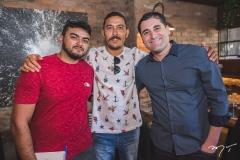Jackson Morais, Otávio Neto e Mauricio Campos