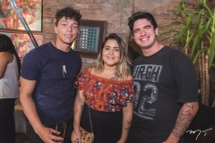 Junior Barros, Luiza Garzom e Lauro Marinho
