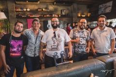 Pablo Silva, Bruno Santiago, Felipe Machado, Junior Braga e Luiz Afonso Light