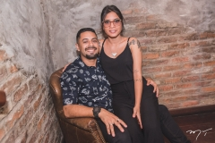 Renato Lopes e Sara Prachedes