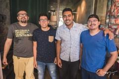Rogério Sousa, Pablo Melo, Allan Douglas e Diego Marques