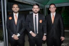 Anderson Sillveira, Henrique Freire e Welson Lopes