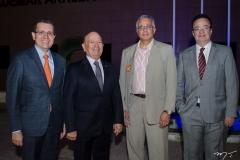 Gleidson Mota, Danilo Mota, Fábio Ozório e Carlos Monteiro