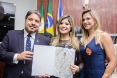 Leandro, Roberta e Aline Vasques