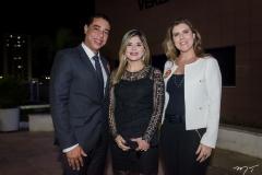 Leonardo Araújo, Roberta Vasques e Carla Sofia