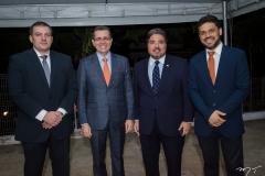 Leonardo Figueiredo, Gleidson Mota, Leandro Vasques e Moacenir Filho