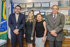 Márcio Martins, Roberta Vasques, França e Antônio Vasques