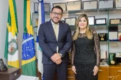 Márcio Martins e Roberta Vasques
