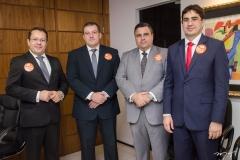 Robson Freitas, Leonardo Figueiredo, Fábio Timbó e Leonardo Feitosa