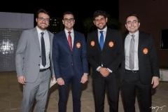 Ruan Castro, Ernani Soares, Eduardo Sales e Leon Melo