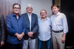 Beto Studart, Assis Machado, Marcos Montenegro e Edgar Gadelha