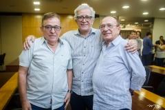 Claudio Targino, Mino Castelo Branco e Marcos Montenegro