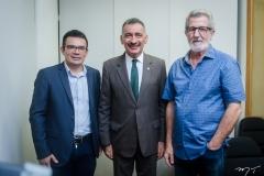 Daniel Fernandes, Artur Bruno e Bosco Carbogim