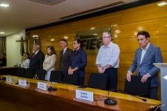 Dolores Feitosa, Roberto Macêdo, Roseane Medeiros, Artur Bruno, Beto Studart, Ricardo Cavalcante e Renato Aragão