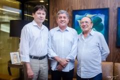Edgar Gadelha, Sampaio Filho e Marcos Montenegro