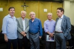 Heitor Studart, Flávio Saboia, Eduardo Bezerra, Francisco Pessoa e Renato Aragão