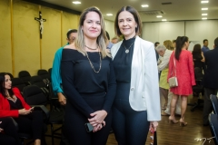 Juliana Guimarães e Mirian Pereira