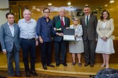 Renato Aragão, Ricardo Cavalcante, Beto Studart, Roberto Macêdo, Dolores Feitosa, Artur Bruno e Roseane Medeiros