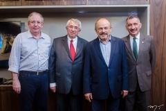 Ricardo Cavalcante, Roberto Macêdo, Honório Pinheiro e Artur Bruno