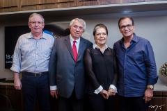 Ricardo Cavalcante, Roberto, Tânia Macêdo e Beto Studart