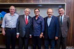 Ricardo Cavalcante, Roberto Macêdo, Beto Studart, Honório Pinheiro e Artur Bruno