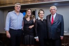 Rodrigo, Anne, Tânia e Roberto Macêdo