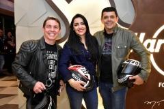 Marcio Cabral, Debora e Rubens Queiros