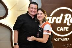 Ricardo Lotifi e Caterine Araujo