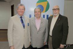 Antonio Alderi de Sousa Pereira,  Meton Vasconcelos e Eduardo Campos