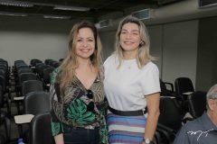 Cremilda Moreira e Cristiane Estrela