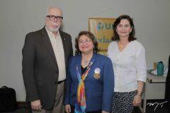 Eduardo Campos, Maria Vital e Marilena Campos