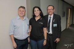 Ricardo Bezerra, Caroline Alves Carneiro e José Maria Pinheiro Lima