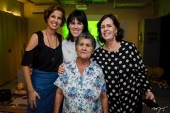 Jamylle Weyne Nunes, Carolina Figueirêdo, Nelma Figueirêdo e Mestra Tarina