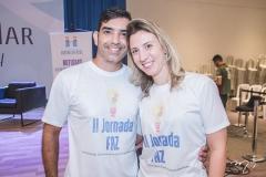 Fábio Castro e Fernanda Cavalieri