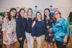 Maira Gomes, Laís Pessoa, Daniela Martins, Virna Moreira, Raquel Lobo e Lígia Campos