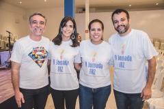 Mauro Costa, Erika Rolim, Renata Fernandes e Pablo Rolim