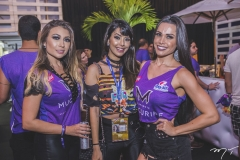 Edith Gomes, Ana Gabriela Sales e Fernanda Davila