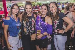 Renata Cabral, Natália Marques, Marcela Camurça e Larissa Coelho