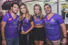 Ronaldo Aguiar, Edith Gomes, Mariana Leite e Vitor Leão