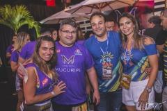 Vanessa Queiros, Mário Queiros, Enio e Renata Cabral